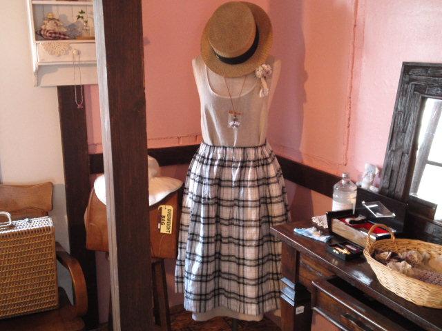 ふんわりギャザースカート